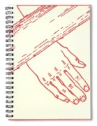Seventh Station- Jesus Falls The Second Time  Spiral Notebook