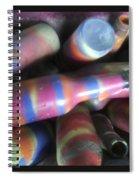 Seventies Bottles Spiral Notebook