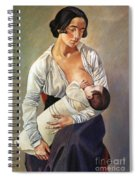 Severini: Maternity, 1916 Spiral Notebook