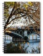 Seville - The Triana Bridge 2  Spiral Notebook