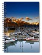 Seward Alaska Boat Marina Spiral Notebook