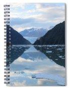 Sawyer Glacier  Spiral Notebook