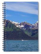 Seward Mountains Spiral Notebook