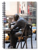 Sewing Sculpture Spiral Notebook