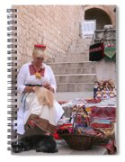 Sewing Souvenirs In Old Dubrovnik Spiral Notebook