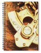 Sextant Sailing Navigation Tool Spiral Notebook