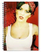Sexy Cleaning Lady Spiral Notebook