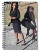 Sexy Friends 9 Spiral Notebook