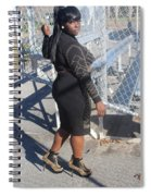 Sexy Friends  Spiral Notebook