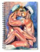 Sexy Sailors Spiral Notebook