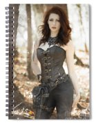 Sexy Steam Punk Spiral Notebook