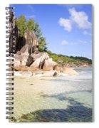 Seychelles Rocks Spiral Notebook