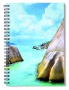 Seychelles Shallows Spiral Notebook