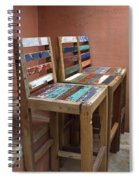 Shabby Chic Chairs Spiral Notebook