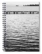 Shabby Nautical Style Spiral Notebook