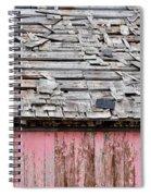 Shabby Shingles  Spiral Notebook