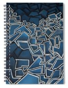 Shadderd Space Spiral Notebook