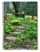 Shade Garden 2  Spiral Notebook