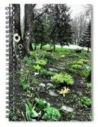 Shade Garden Spiral Notebook