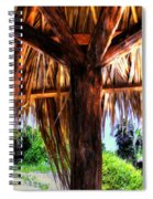 Shade On The Beach Spiral Notebook