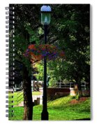 Shaded Beauty Spiral Notebook