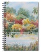 Shades Of Autumn Spiral Notebook