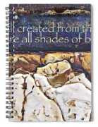 Shades Of Beauty Spiral Notebook