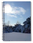 Shades Of Blue In Winter Spiral Notebook