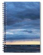 Shades Of Blue.. Spiral Notebook