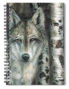 Shades Of Gray Spiral Notebook