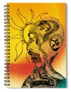 Shades Of The Seventies Spiral Notebook