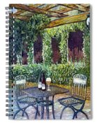 Shades Of Van Gogh Spiral Notebook