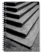 Shadow And Steps Spiral Notebook