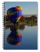Shadow Dancing Spiral Notebook
