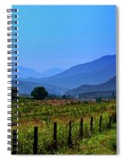 Shadow Mountains Spiral Notebook