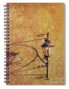 Shadow Of Light Spiral Notebook