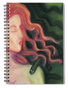 Shadow Of Medusa Spiral Notebook