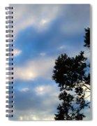 Shadow On Softness Spiral Notebook