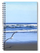 Shadow On The Sand Spiral Notebook