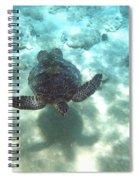 Shadow Race Spiral Notebook