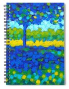 Shadow Trees Spiral Notebook