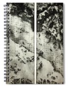 Shadows And Lace Spiral Notebook