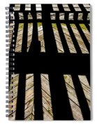 Shadows And Lines - Semi Abstract Spiral Notebook