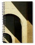 Shadows And Sun Spiral Notebook