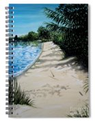 Shadows In The Sand Spiral Notebook