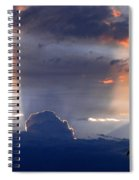 Shadows In The Sky Spiral Notebook