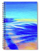 Shadows In The Surf Spiral Notebook