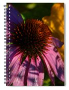 Shadows Of August Spiral Notebook