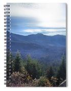 Shadows Of The Majestic , White Mountains Spiral Notebook