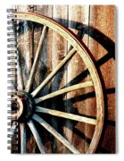 Shadows Of The Past Spiral Notebook